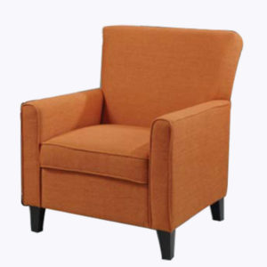 Accent Chair – Orange