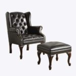 Broadway Accent Chair – Black