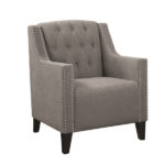 Barrel Accent Chair – Fabric