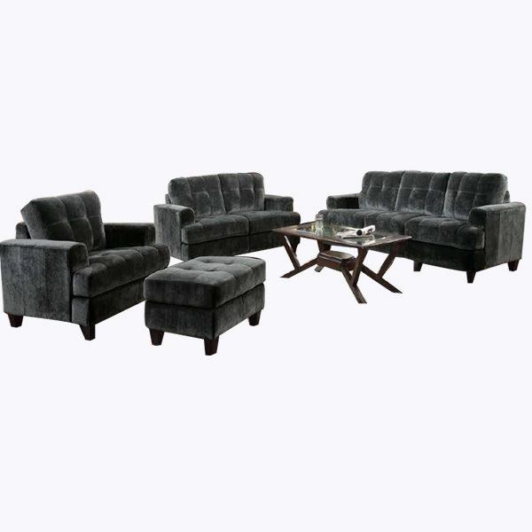 high point fabric sofa