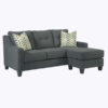 sectional chaise sofa with ottoman