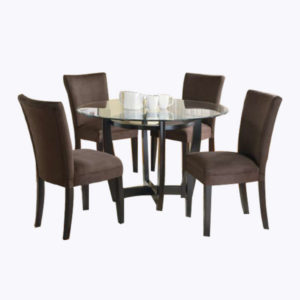 Blake Dining Set – Brown