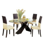 Gilbert Dining Set – Oval