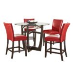 Blake Dining Set – Red