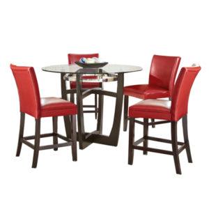 Blake Dining Set – Red