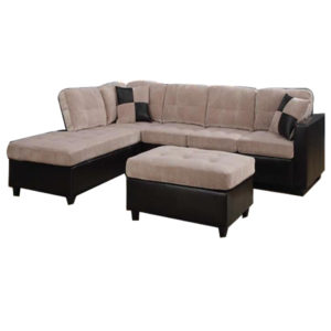 Alayna Sectional Sofa – Beige